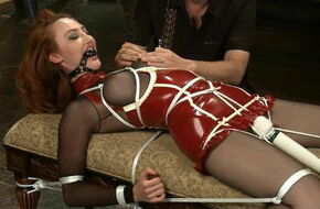 Tied up forced orgasms